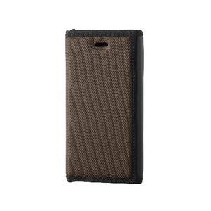 エレコム iPhone6s/6用手帳型カバー/ZEROSHOCKケース/ブラウン PM-A15PLFFBR h01