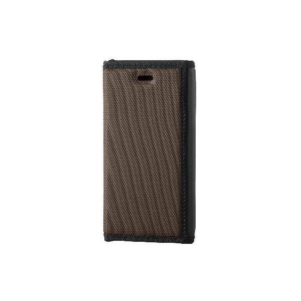 エレコム iPhone6s/6用手帳型カバー/ZEROSHOCKケース/ブラウン PM-A15PLFFBRf00