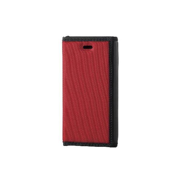 エレコム iPhone6s/6用手帳型カバー/ZEROSHOCKケース/レッド PM-A15PLFFRDf00
