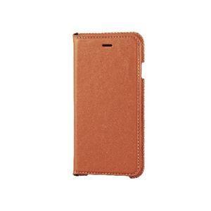 エレコム iPhone6s/6用本革(スプリット)ケース/オレンジ PM-A15PLFNDR h01