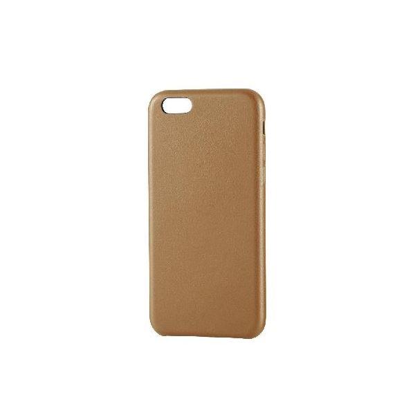 エレコム iPhone6s/6用ソフトレザーオープンカバー/ブラウン PM-A15PLOBRf00