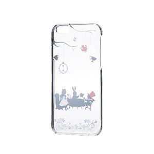 エレコム iPhone6s/6用シェルカバー/アップルテクスチャー/アリス(シルバー) PM-A15PVAT02 h01
