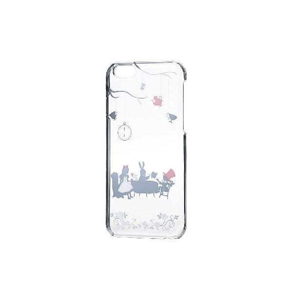 エレコム iPhone6s/6用シェルカバー/アップルテクスチャー/アリス(シルバー) PM-A15PVAT02f00