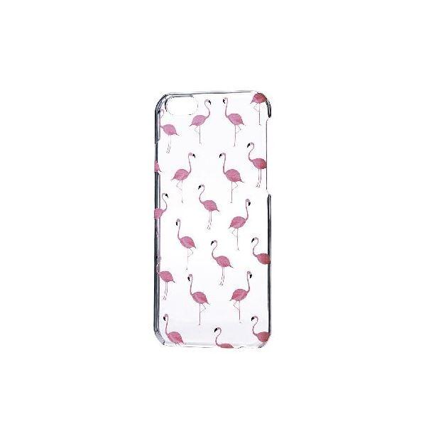 エレコム iPhone6s/6用シェルカバー/アップルテクスチャ/フラミンゴ PM-A15PVAT06f00
