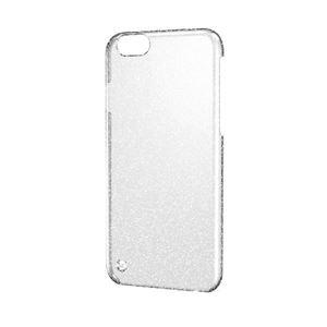 エレコム iPhone6s/6用シェルカバー/ラメ/クリア(シルバーラメ) PM-A15PVBCRSV h01