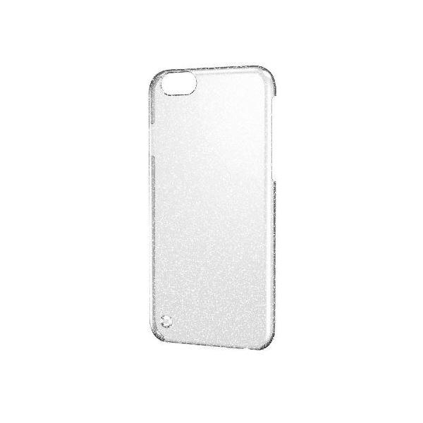 エレコム iPhone6s/6用シェルカバー/ラメ/クリア(シルバーラメ) PM-A15PVBCRSVf00