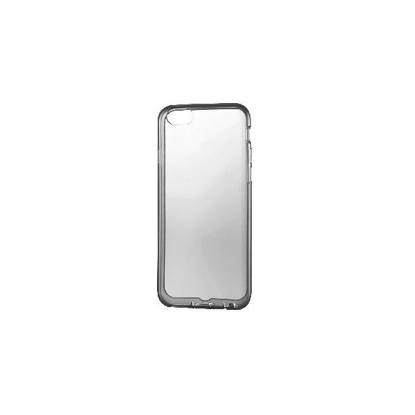 エレコム iPhone6s/6用シリコンケース/極み/クリアブラック PM-A15SCTBKf00