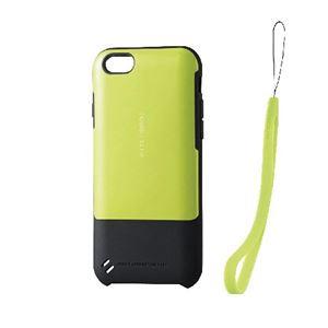 エレコム iPhone6s/6用TOUGH SLIMケース/ライムグリーン PM-A15TSGN h01