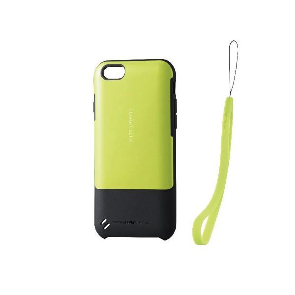 エレコム iPhone6s/6用TOUGH SLIMケース/ライムグリーン PM-A15TSGNf00