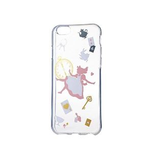 エレコム iPhone6s/6用ソフトケース/アップルテクスチャー/アリス(カラー) PM-A15UCAT01 h01
