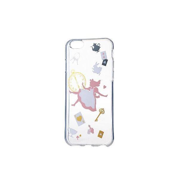 エレコム iPhone6s/6用ソフトケース/アップルテクスチャー/アリス(カラー) PM-A15UCAT01f00