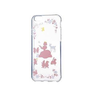 エレコム iPhone6s/6用ソフトケース/アップルテクスチャー/プリンセス(カラー) PM-A15UCAT03 h01