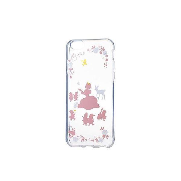 エレコム iPhone6s/6用ソフトケース/アップルテクスチャー/プリンセス(カラー) PM-A15UCAT03f00