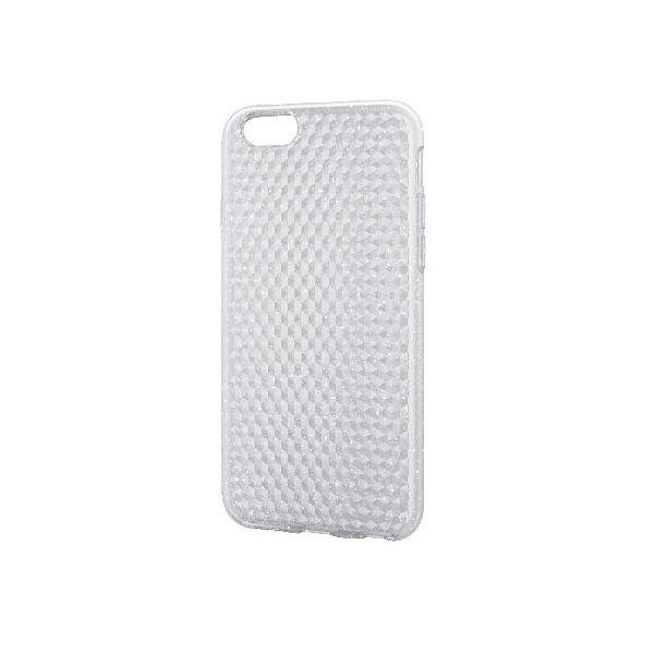エレコム iPhone6s/6用ソフトケース/ダイヤカット/ラメクリア PM-A15UCJCRf00
