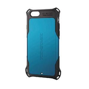エレコム iPhone6s/6用ZEROSHOCKケース/ブルー PM-A15ZEROBU h01