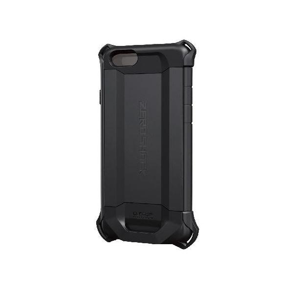 エレコム iPhone6s/6用ZEROSHOCKケース/シールド/ブラック PM-A15ZEROFBKf00