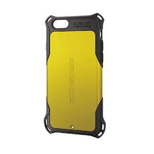 エレコム iPhone6s/6用ZEROSHOCKケース/イエロー PM-A15ZEROYL h01