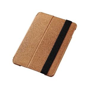 エレコム iPad mini 4/ソフトレザーケース/2段階調節/ブラウン TB-A15SPLF1BR h01