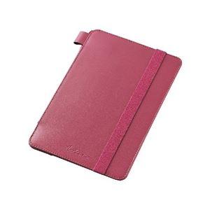 エレコム iPad mini 4/ソフトレザーケース/4段階調節/ピンク TB-A15SPLF2PN h01