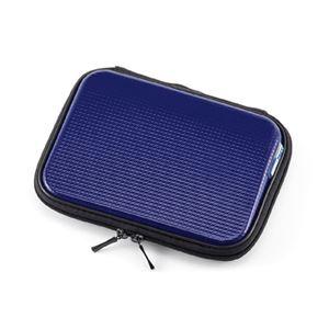 (まとめ)サンワサプライ 電子辞書衝撃吸収ハードケース(ブルー) PDA-EDC30BL【×2セット】