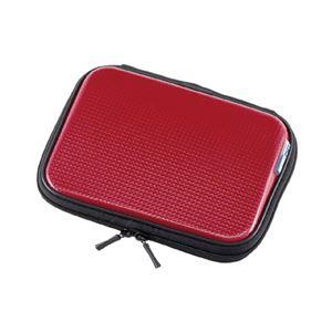 (まとめ)サンワサプライ 電子辞書衝撃吸収ハードケース(レッド) PDA-EDC30R【×2セット】