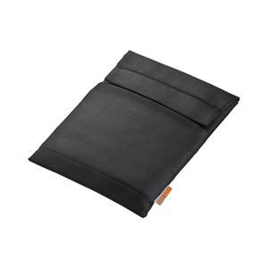 (まとめ)サンワサプライ MacBook用インナーケース(ブラック) IN-AMAC13BK【×2セット】