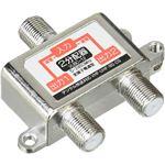 (まとめ)変換名人 アンテナ 1:2分配器(VHF・UHF・BS・CS) VUBC-12【×20セット】