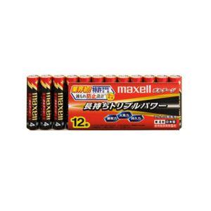 (まとめ)maxell(マクセル)単4形アルカリ乾電池ボルテージ12本パックLR03(T)12P【×5セット】