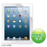 (まとめ)サンワサプライ iPad第4/3/2世代用ブルーライトカット液晶保護フィルム LCD-IPAD4BC【×2セット】