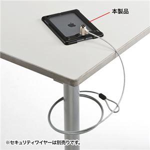 (まとめ)サンワサプライ iPadminiRetina/mini対応セキュリティ(ブラック) SLE-26SIPMBK【×2セット】 h01