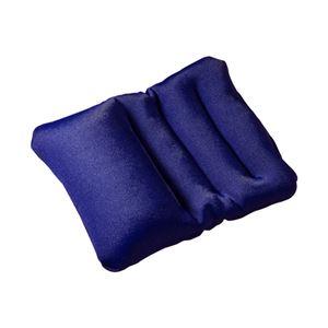 (まとめ)サンワサプライ エルゴノミクスリストレスト(小サイズ、ブルー) TOK-ERG3BL【×3セット】