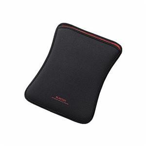 (まとめ)エレコム iPad Air用スリップインポーチ TB-A13NPBK【×3セット】
