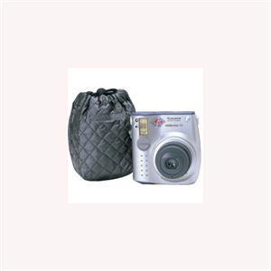 (まとめ)エツミ キルティングポーチS(ブラック) E-5017【×5セット】