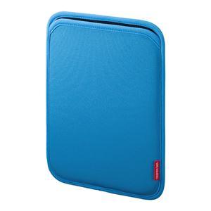 (まとめ)サンワサプライ スリップインケース PDA-IPAD63BL【×3セット】