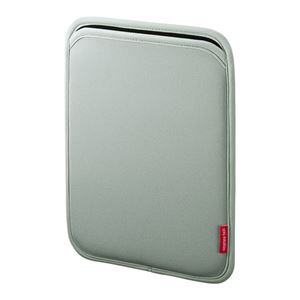 (まとめ)サンワサプライ スリップインケース PDA-IPAD63GY【×3セット】