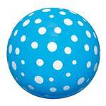(まとめ)イガラシ 水玉ビーチボール 40cm ブルー BGP-540BL【×10セット】