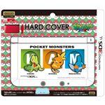 (まとめ)ジュピター 3DS LL用 ハードカバーforニンテンドー3DSLL(キモリ・アチャモ・ミズゴロウ) P059【×5セット】