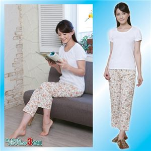 (まとめ)昭光プラスチック製品 欲しかったパジャマの下 3色組 M 8091671【×2セット】