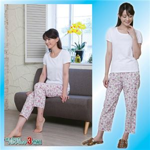 (まとめ)昭光プラスチック製品 欲しかったパジャマの下 3色組 L 8091672【×2セット】