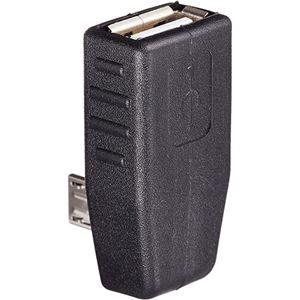 (まとめ)変換名人 変換プラグ microHOST 右L型 USBMCH-RL【×20セット】