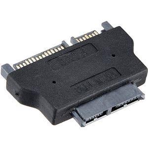 (まとめ)変換名人 SATAドライブ変換 slim SATA-SATA ドライブ SATASL-SATA【×5セット】