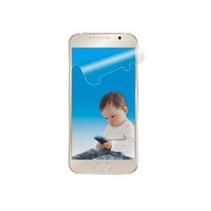 (まとめ)エレコム Galaxy S6用ブルーライトカット PD-SCGS6FLBLAG【×3セット】