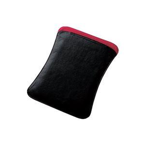 (まとめ)エレコム Xperia(TM)Z4Tablet用ソフトレザーポーチ TBM-SOZ4ALPBK【×2セット】