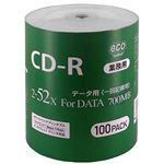 (まとめ)磁気研究所 業務用DVD-R 4.7GB 50枚エコパック データ用 16倍速対 ワイドプリンタブル対応詰め替え用エコパック CR80GP100_BULK【×2セット】