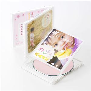 (まとめ)サンワサプライ プラケース用インデックスカード(フォト光沢) JP-IND14GKN【×10セット】
