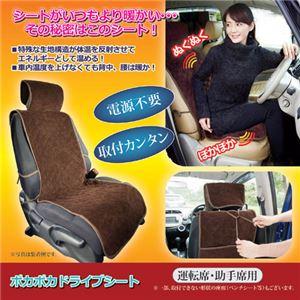 (まとめ)昭光プラスチック製品 ポカポカドライブシート 809341【×2セット】 - 拡大画像