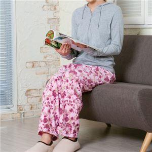 【訳あり・在庫処分】(まとめ)昭光プラスチック製品 欲しかった裏起毛パジャマの下2色組 3L 8102074【×2セット】