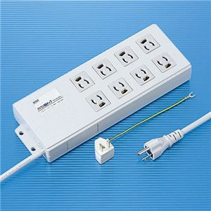サンワサプライ パソコン連動タップ TAP-RE2MN h01