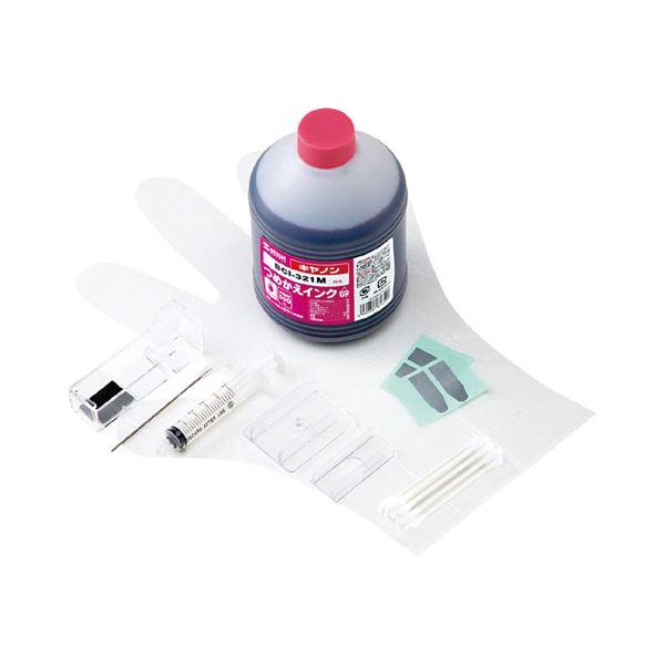 サンワサプライ 詰め替えインク INK-C321M500f00