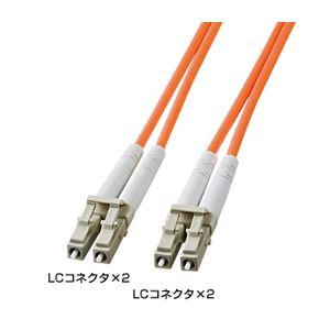 サンワサプライ 光ファイバケーブル HKB-LCLC5-05L h01